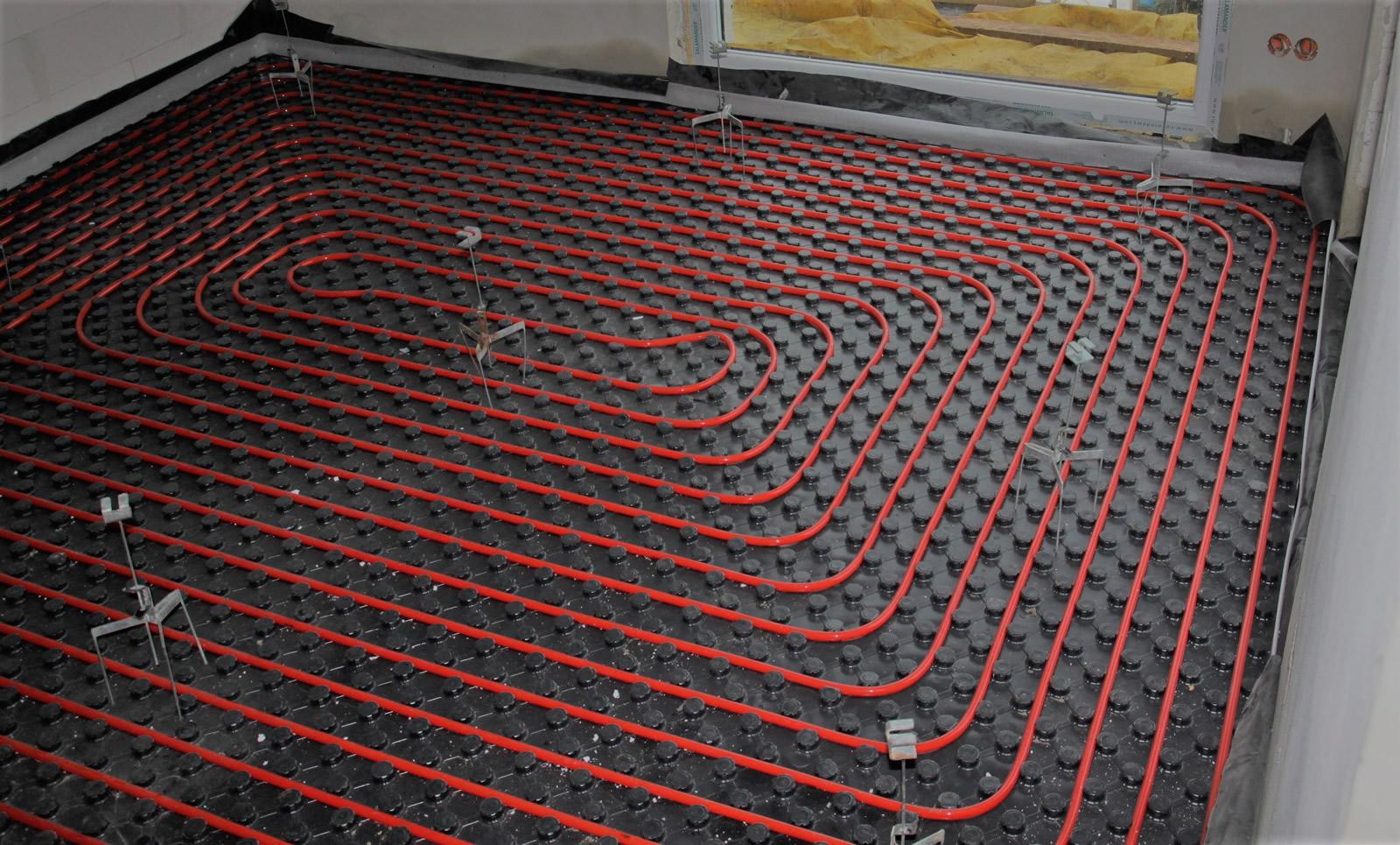 Posadzki anhydrytowe WAAB Termo Floor